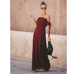 Off the shoulder Manchester dress by Vicidolls